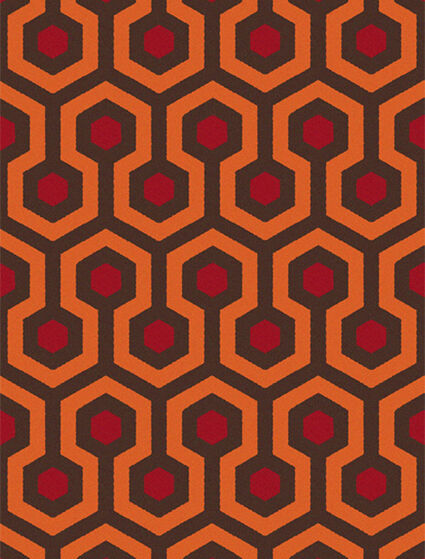 The Shining Overlook Hotel Carpet Quality Retro Mouse