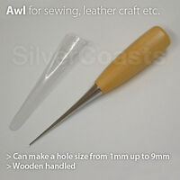 Awl Pinpoint Hole Punching Clicker Scratch Tool for sewing leather craft