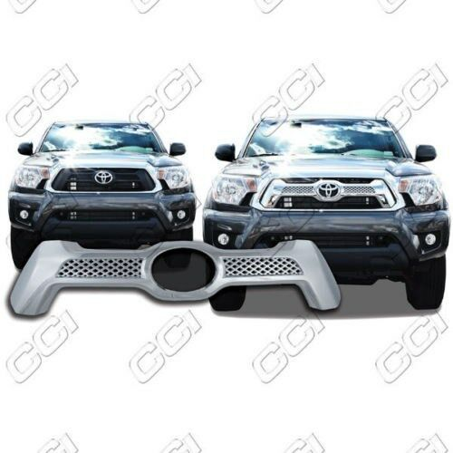 chrome grille overlay fits 2012 2013 2014 2015 toyota. Black Bedroom Furniture Sets. Home Design Ideas