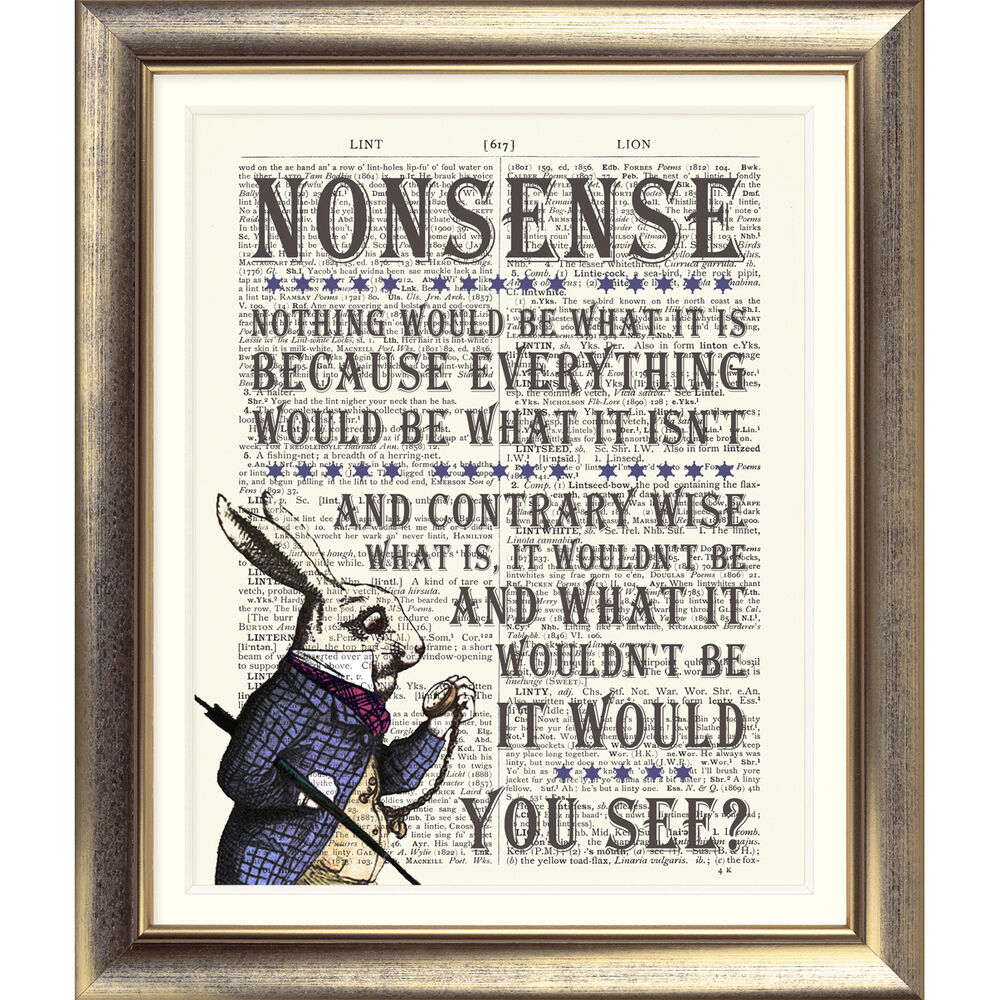 Alice In Wonderland Book Quotes