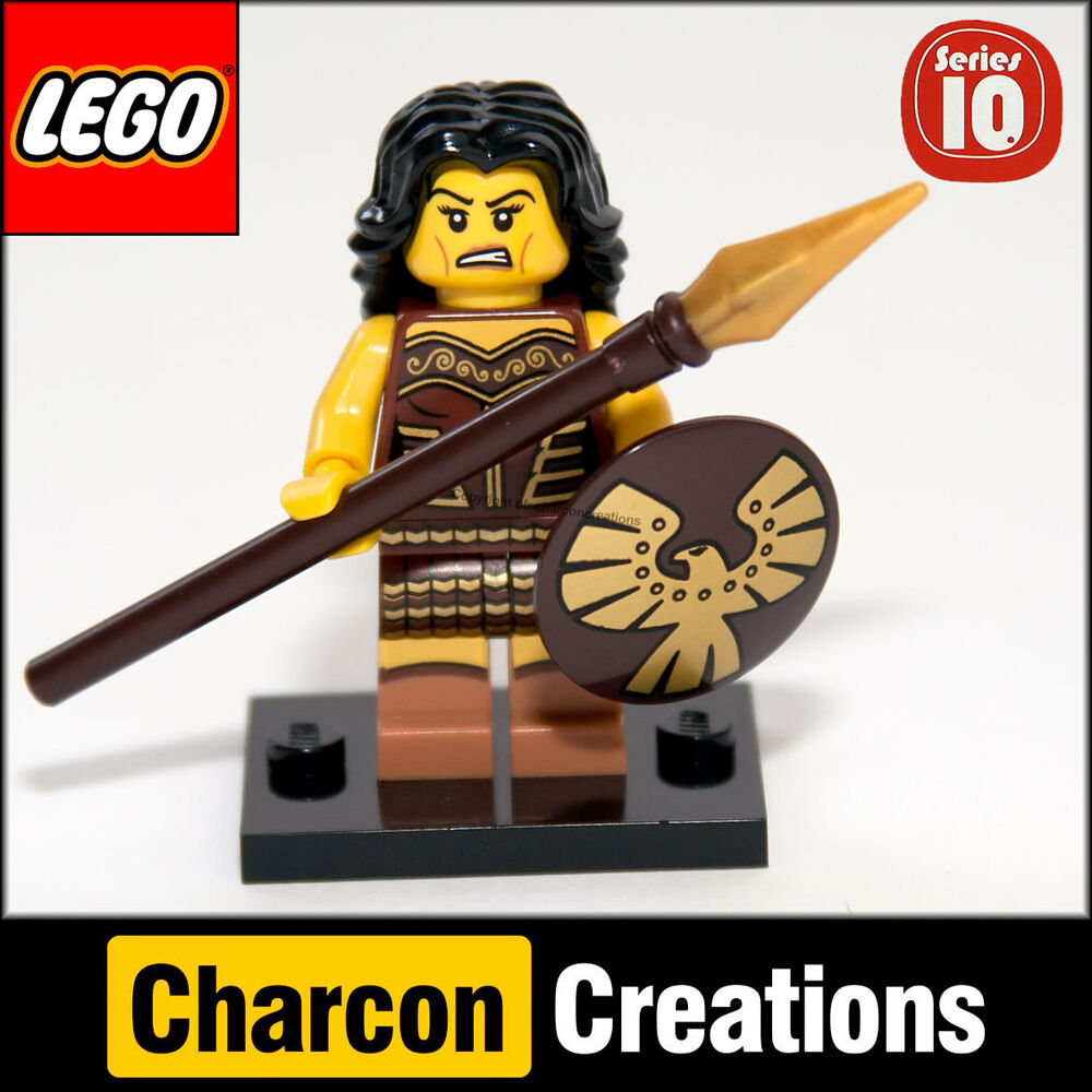 Warriors Book Series Summary: LEGO Minifigures Series 10 Warrior Woman (Removed From