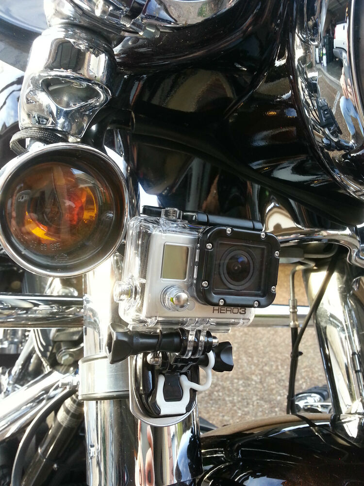 Gopro Camera Mount Fits Harley And Other Motorcycles Ebay