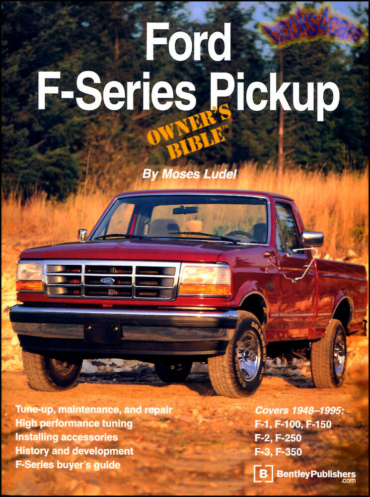 ford owners bible book ludel truck  series pickup manual