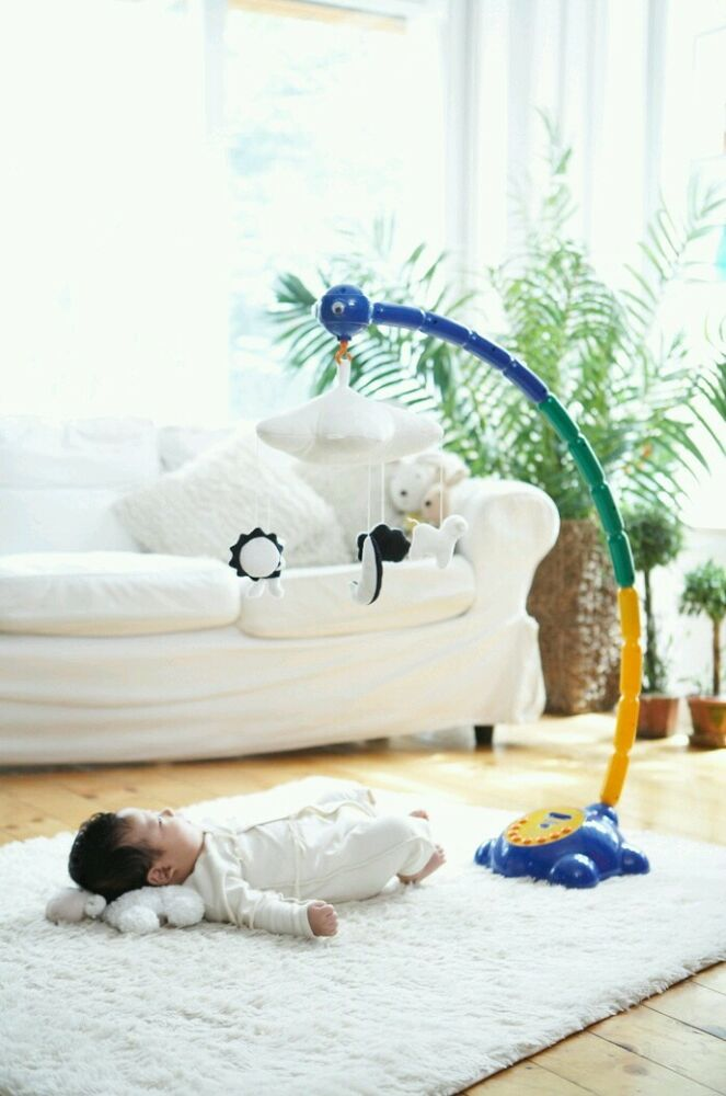 Mp3 Play Stand Type Musical Baby Mobile Ebay