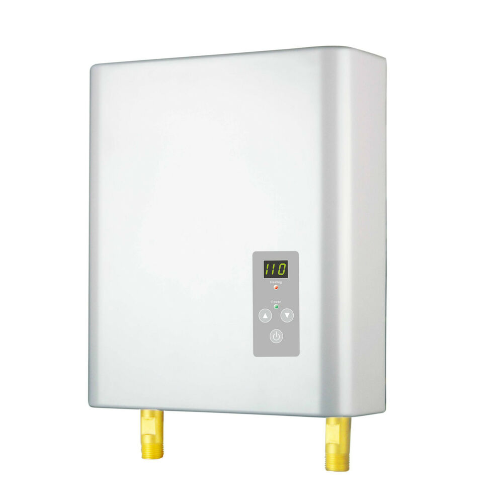 Electric Instant Hot Water Heaters : Electric tankless instant on demand hot water heater