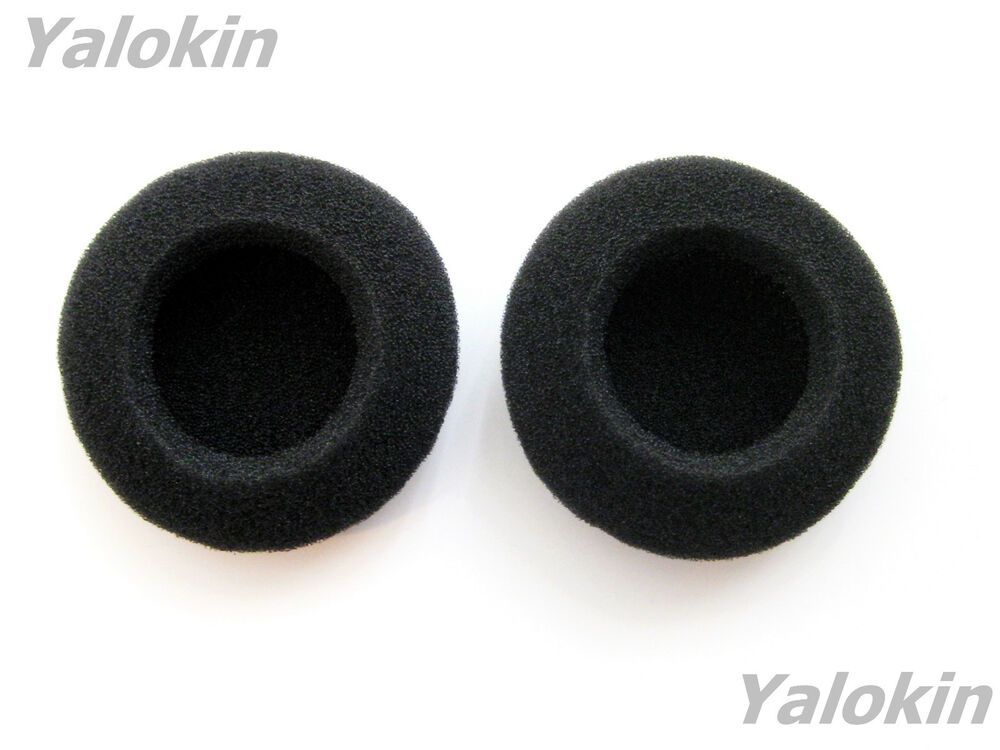 Earbuds white 2 pack - 2 inch foam headphone covers