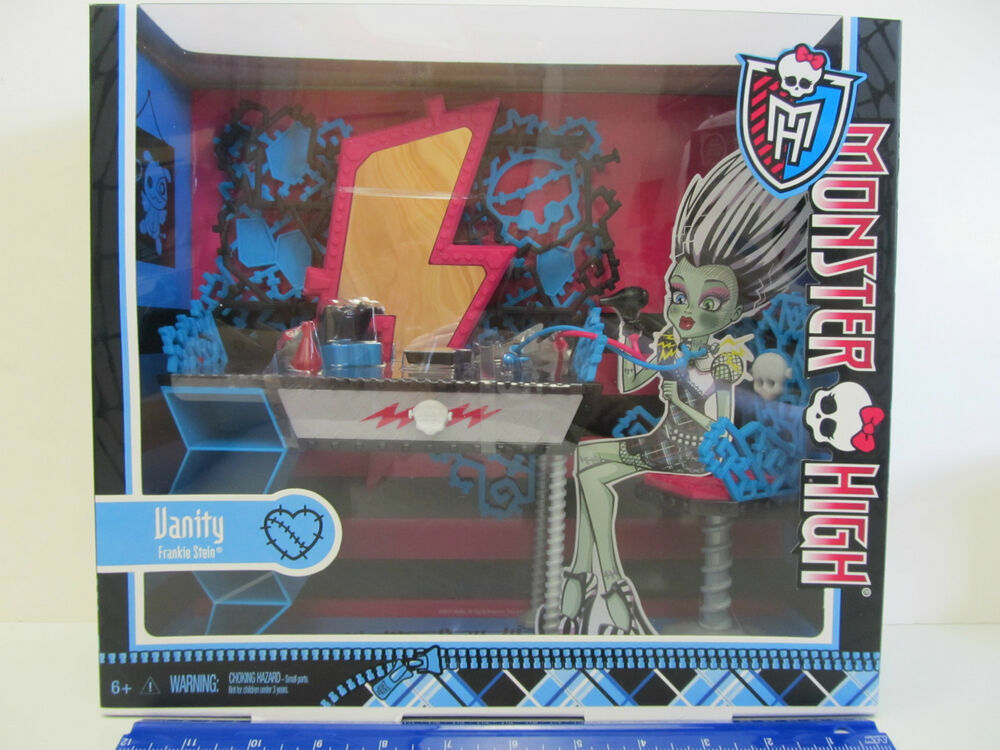 Monster High Frankie Stein Room Decor Vanity Set