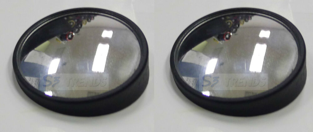 2 Quot Round 360 Adjustable Blind Spot Mirror Wide Angle