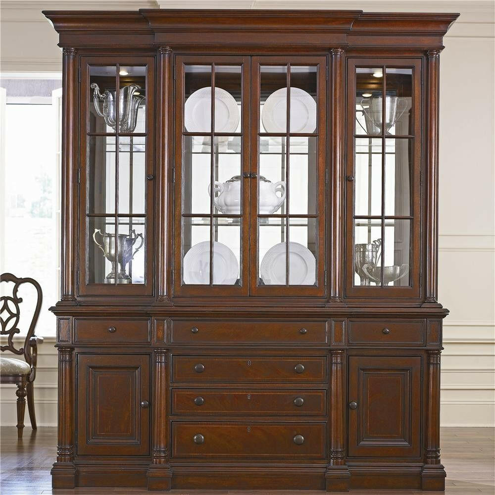 THOMASVILLE FREDERICKSBURG COLLECTION DINING ROOM SET WITH