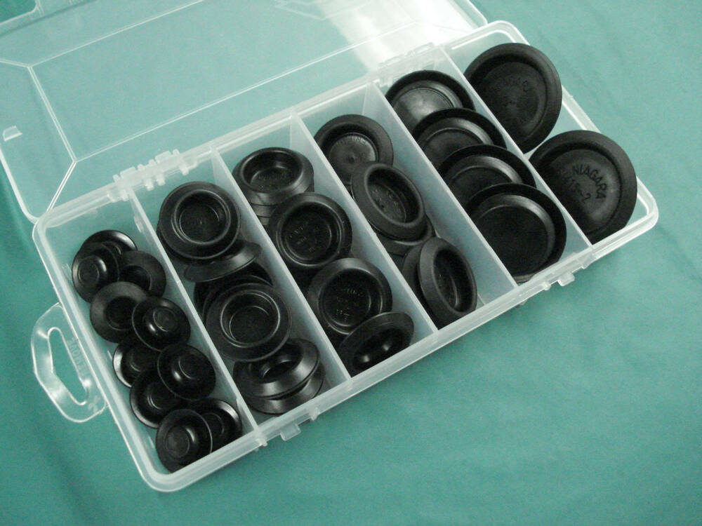 Plastic Plug Assortment Indented Center Auto Body