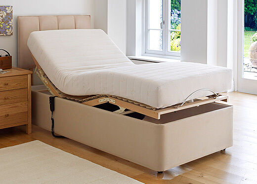 Electric Bed Fitted Sheet 3 39 X6 39 6 90cmx198cm Superior 200tc Percale Cotton Blend Ebay