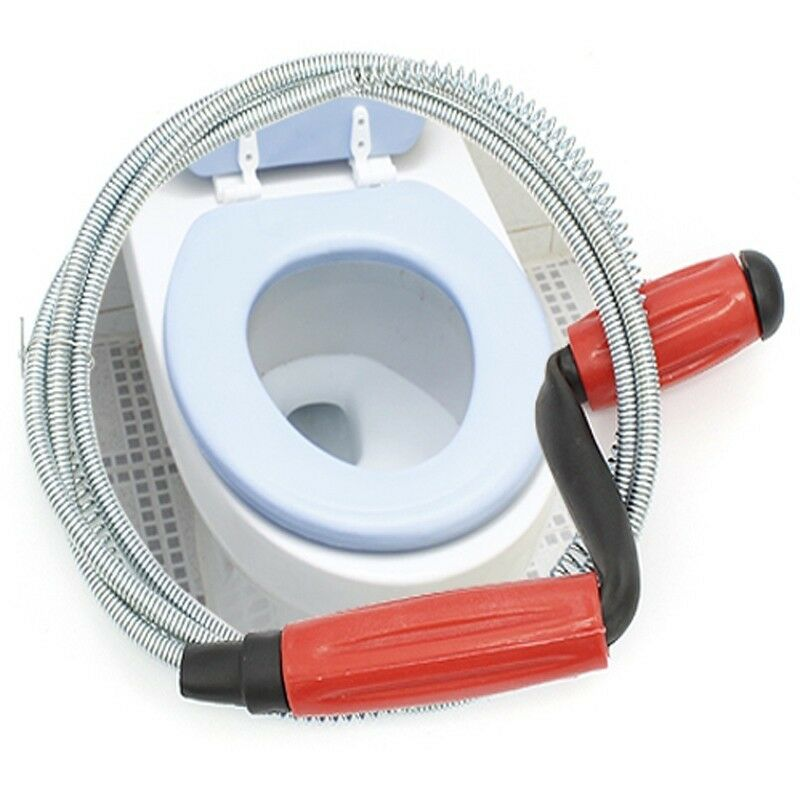 Best Product To Unclog Bathroom Sink: Snake Drain Buster Unclog Toilet Bathroom Spring Wire