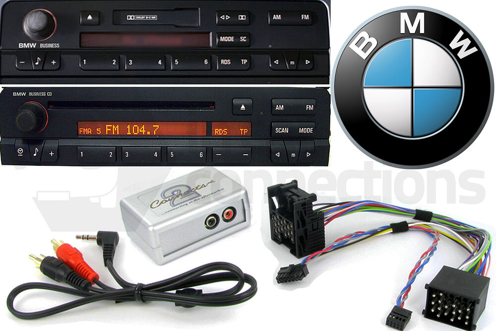 Bmw 3 5 7 Series Z4 Aux In Ipod Iphone Mp3 Player Adapter
