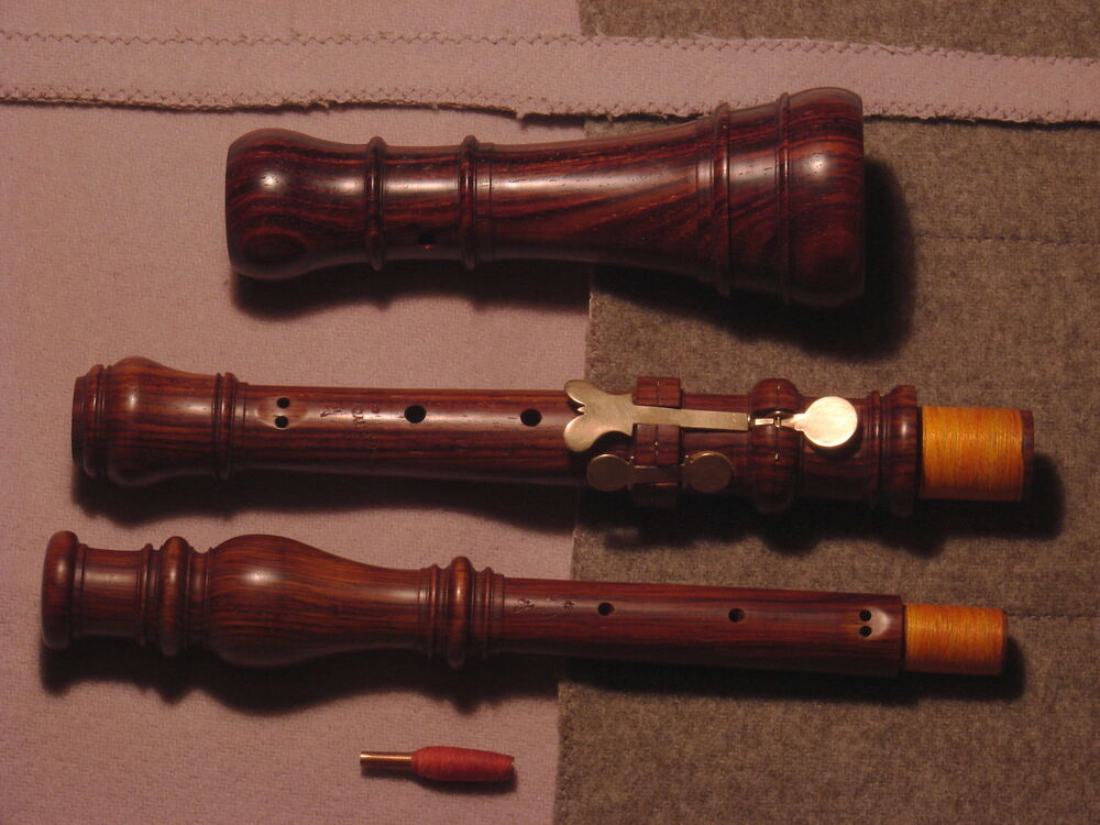BAROQUE OBOE AFTER T. STANESBY, a'=415 Hz - Cocobolo wood ...  Baroque Oboe