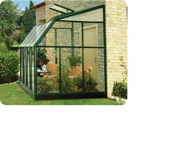 Rion lean to cw 6 39 5 x 12 39 7 greenhouse sunroom kit for Greenhouse sunroom addition