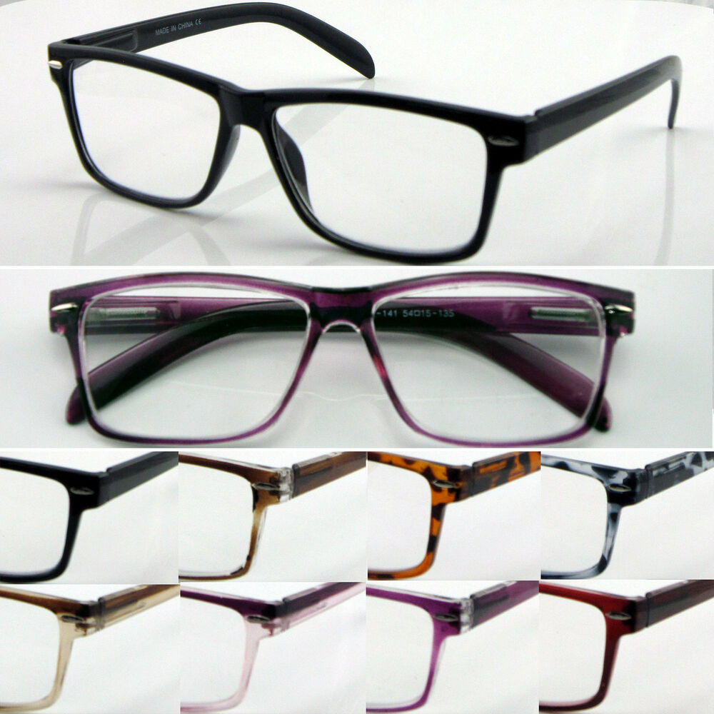L141 Superb Quality Reading Glasses Spring Hinge Large ...