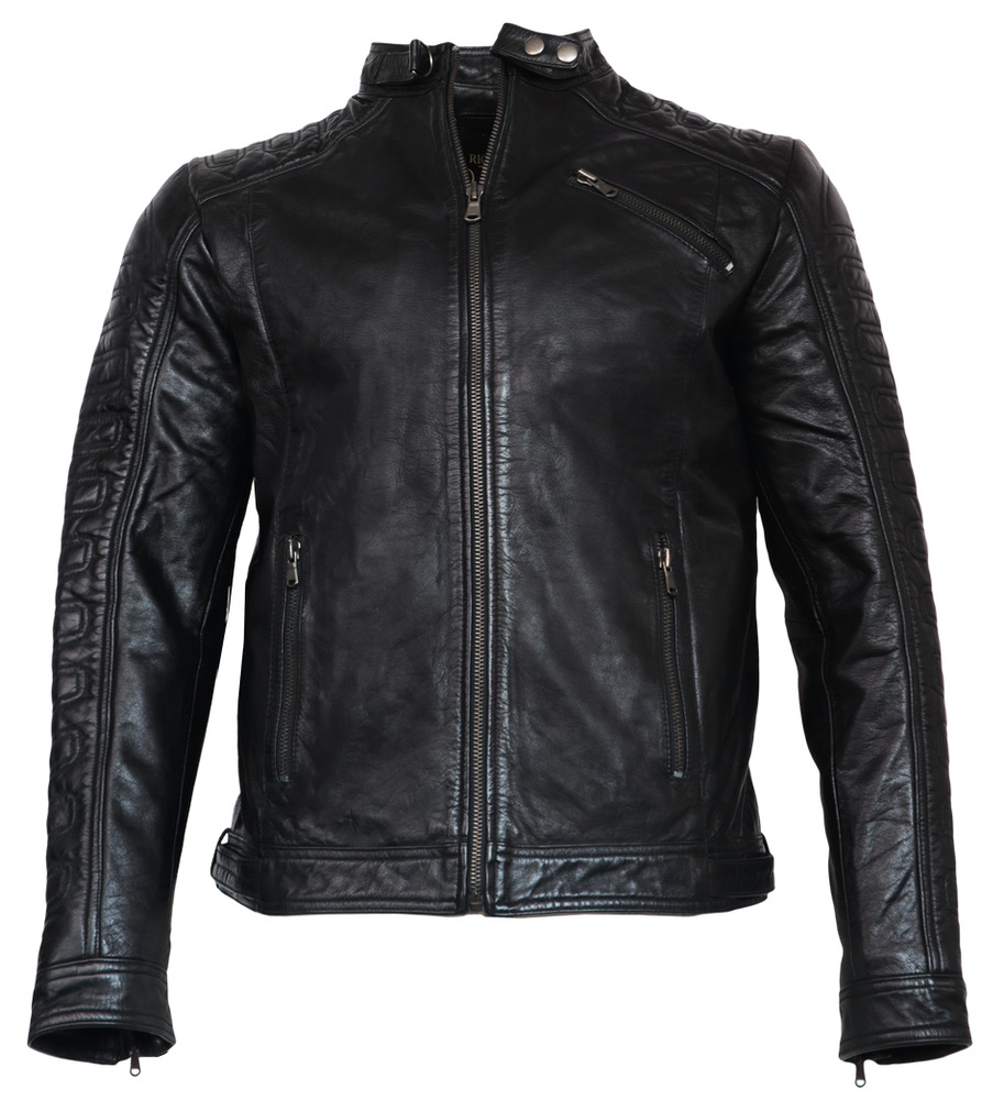 neu erik von ricano herren echt nappa biker lederjacke s m l xl. Black Bedroom Furniture Sets. Home Design Ideas