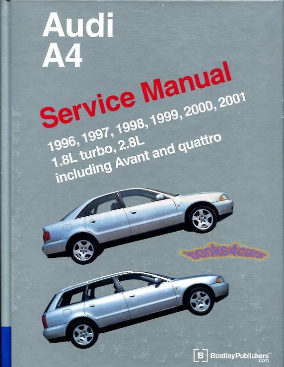 2001 audi a6 27t quattro repair manual