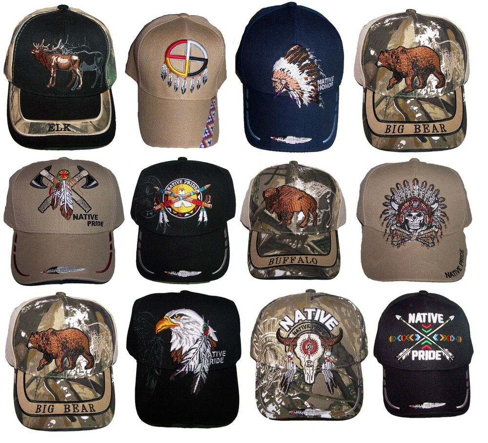 Details about Native Pride Baseball Caps - Assorted Styles Embroidered  12Pcs (NpCap-12  ) 1cec61478b7