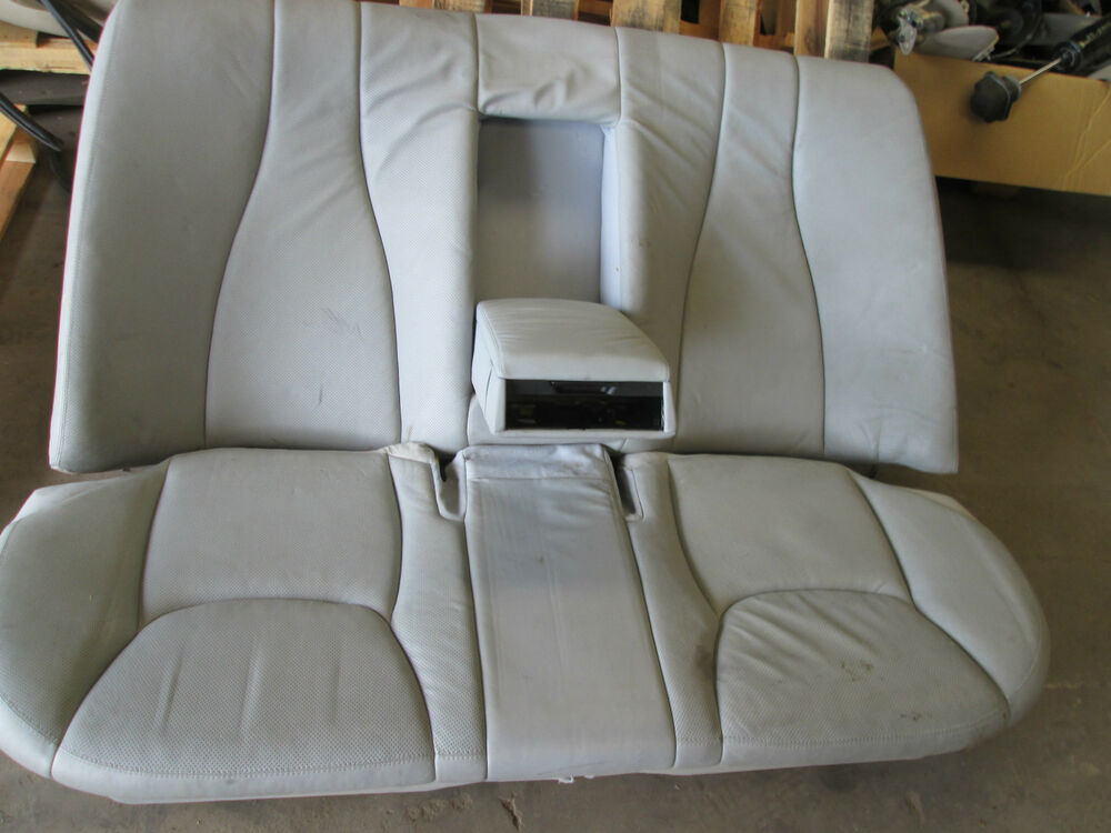 2000 2001 2002 03 2004 2005 06 Mercedes S500 Rear Seat W220 Ebay
