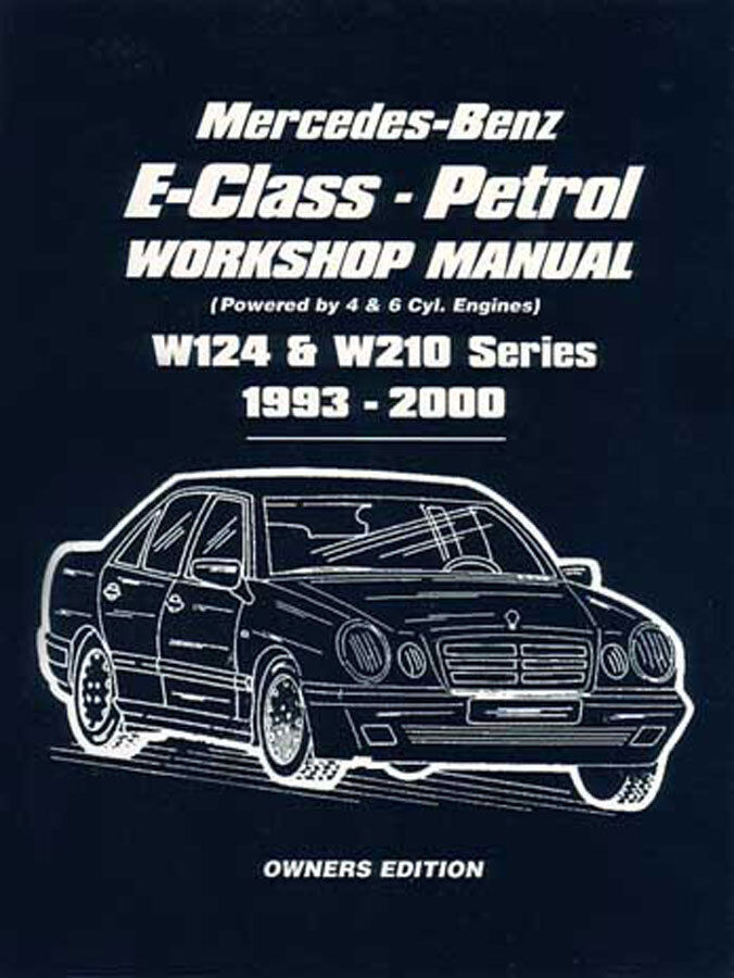 Mercedes E320 Shop Manual Service Repair Book 1993