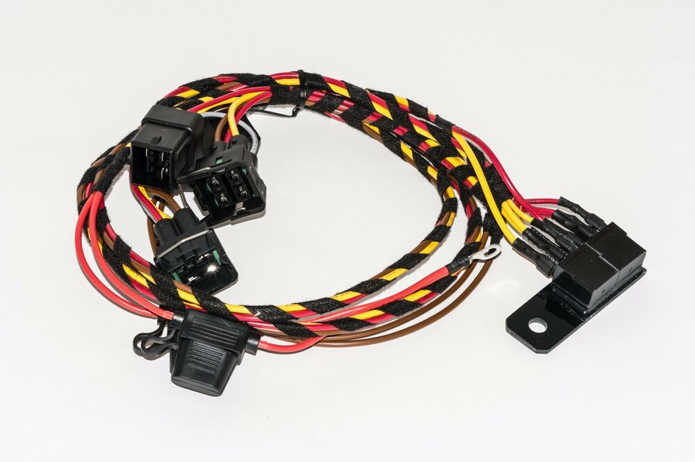 Vw Corrado Passat Uprated Headlight Wiring Loom Harness - Plug Play