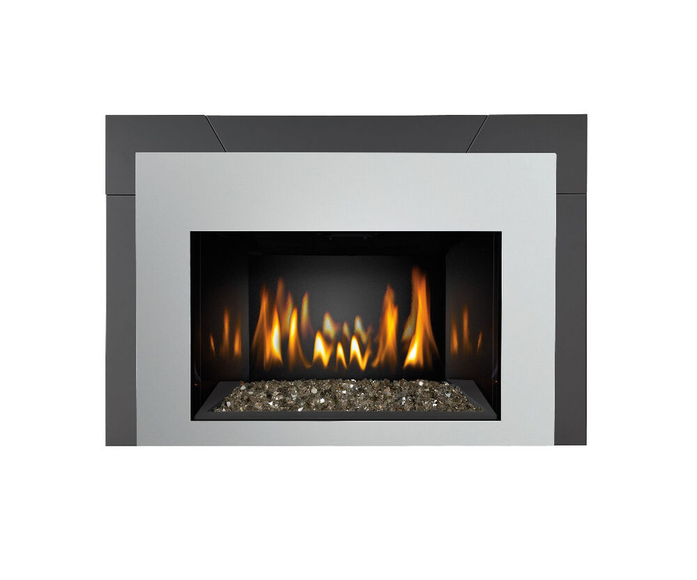 Napoleon gas fireplace insert ir3gn modern contemporary Contemporary wood fireplace insert