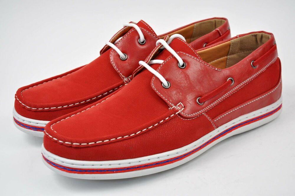 E Wide Boat Shoes For Men