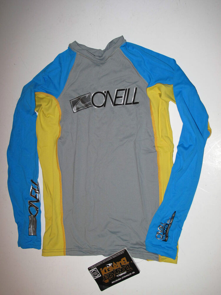 o 39 neill boys 14 long sleeve skins rashguard rash guard