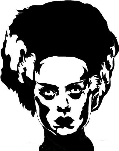 Bride Of Frankenstein Vinyl Decal Mary Shelly Boris