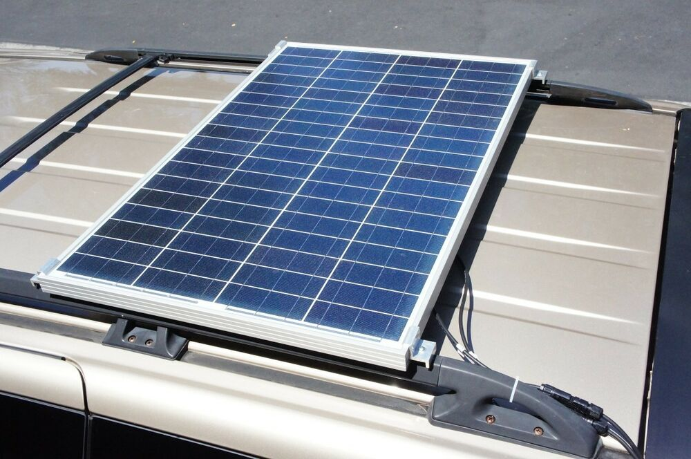 Set of 4 Low Cost Solar Panel Mounting for Car Van RV Boat Patio Roof ...