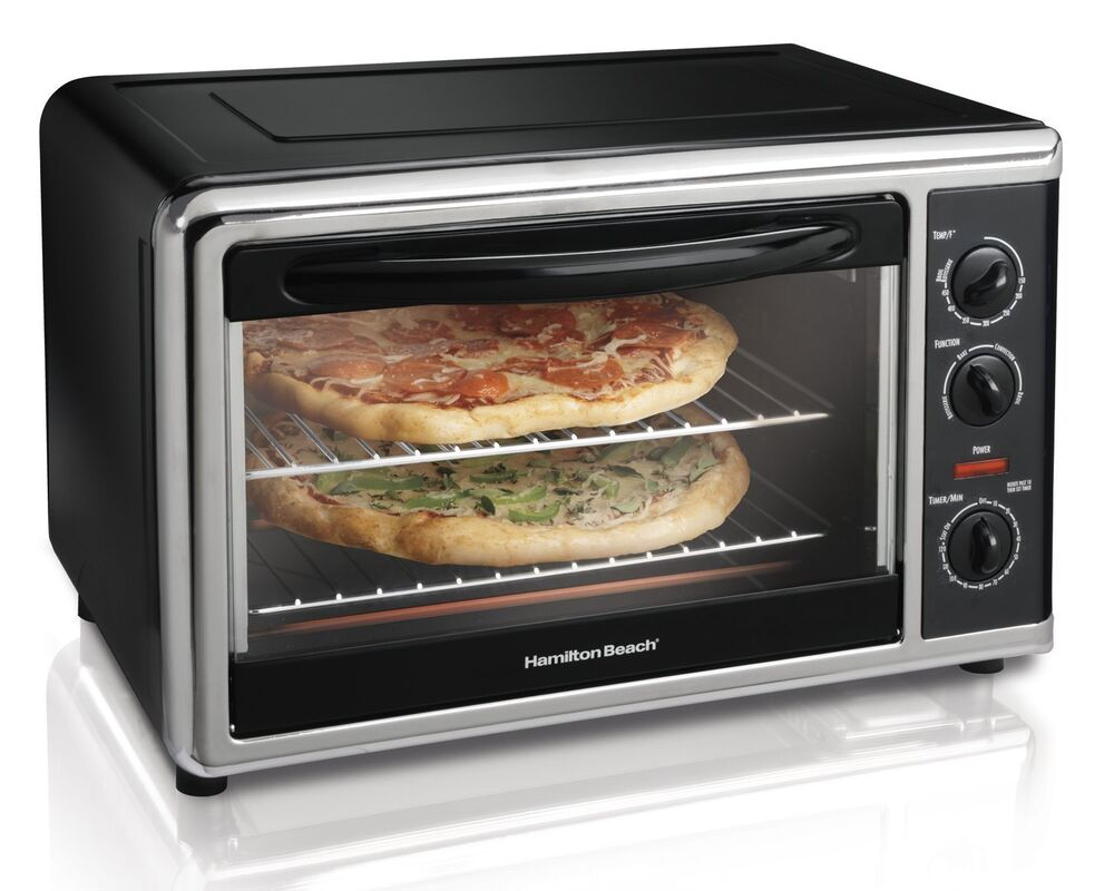 Hamilton Beach 31100 Countertop Oven with Convection and Rotisserie ...