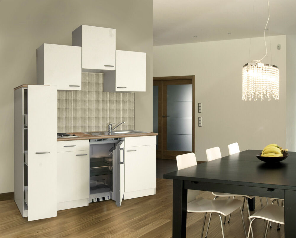 respekta k chenzeile k chenblock single k che weiss 180 cm 150 cm 30 apotheker ebay. Black Bedroom Furniture Sets. Home Design Ideas