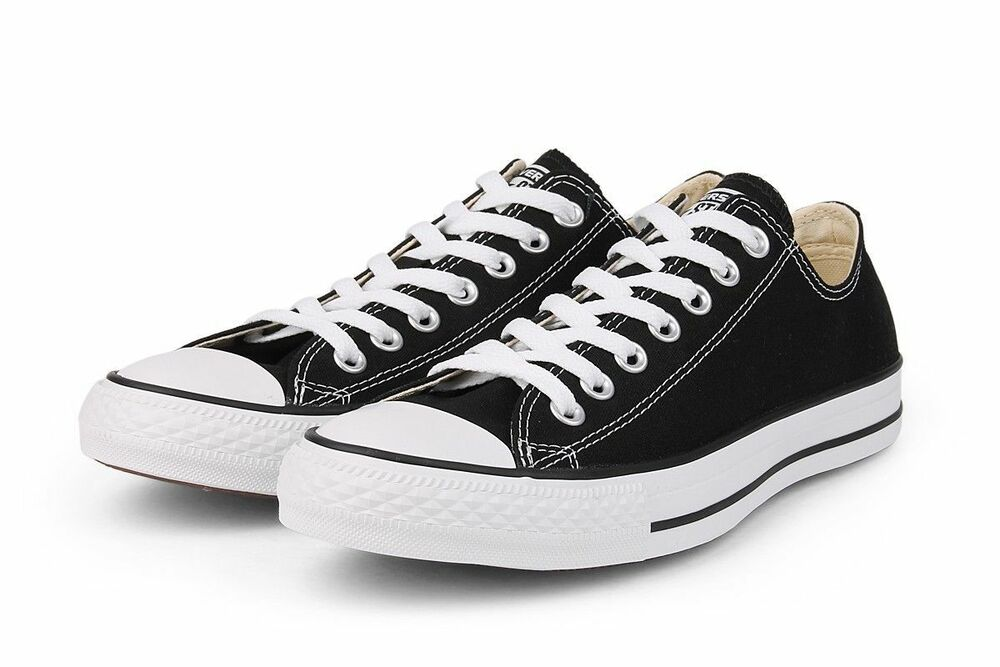 e480a1b26ddd Details about Converse Classic Chuck Taylor All Star M9166 Black Trainer  Sneaker Low OX NEW
