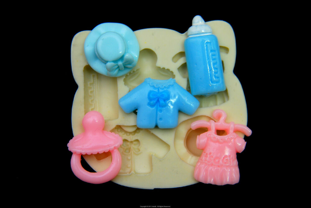 Silicone Molds Sugarcraft Mold Mould Cup Cake Clay