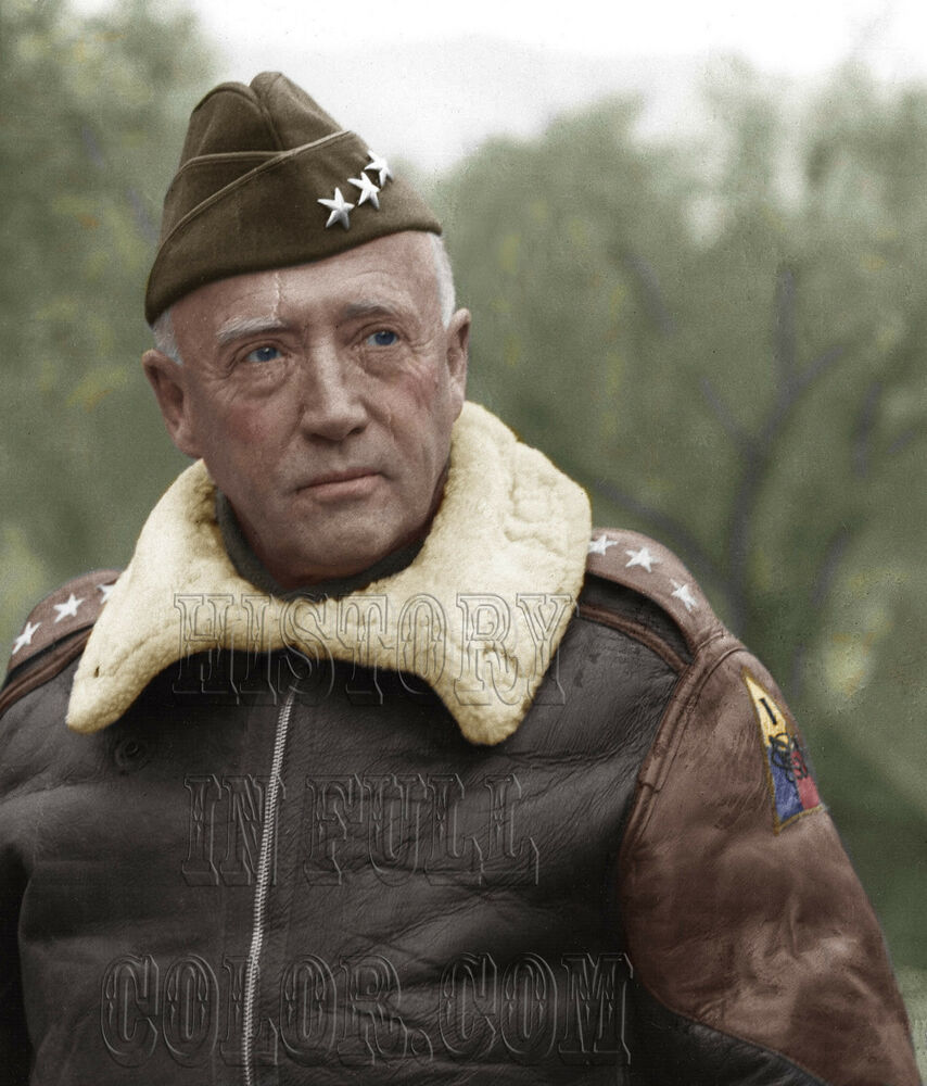 the biographical information of george patton The relationship between george s patton and dwight eisenhower has long been of interest to historians in when the biography of george patton was aired on.