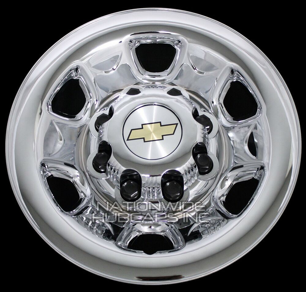 Craftsman Chrome Wheel Covers : Chrome silverado suburban quot lug wheel skins rim