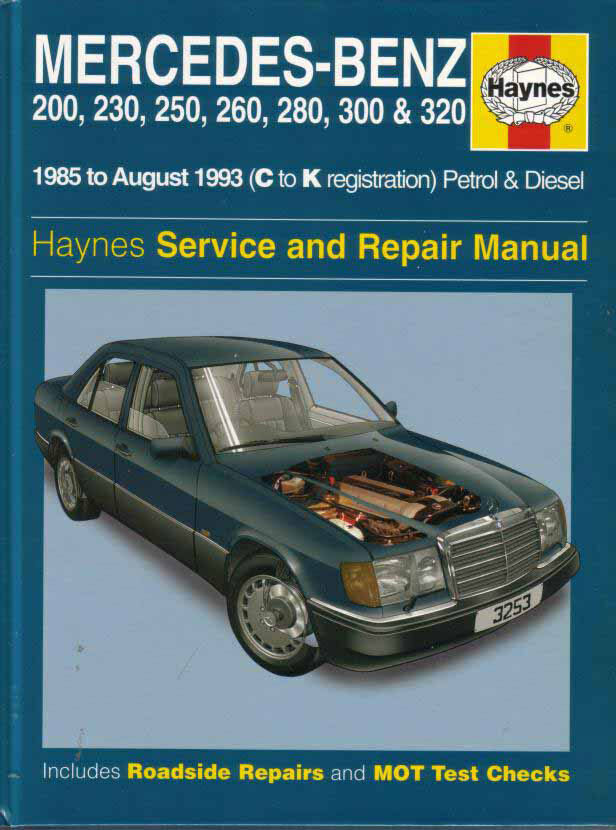 Mercedes 124 Shop Manual Service Repair Book Haynes 300e