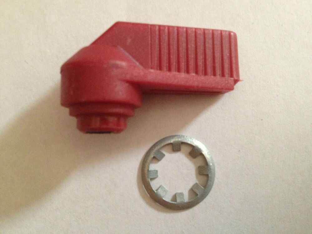 Rv Replacement Parts : Fic red thumb turn global link lock parts replacement