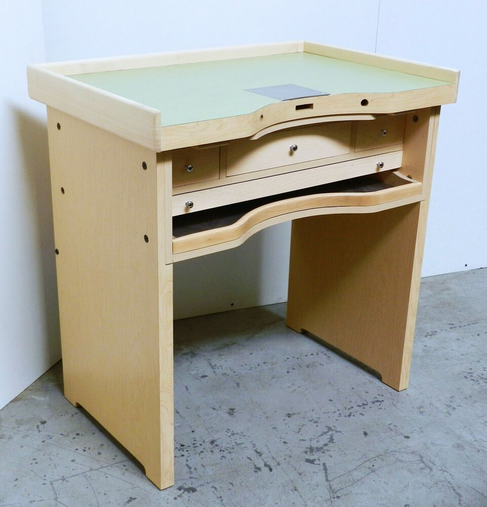 Jewelers Bench Workbench Bench For Jewelry Making Bench Work Bench Repair Design Ebay