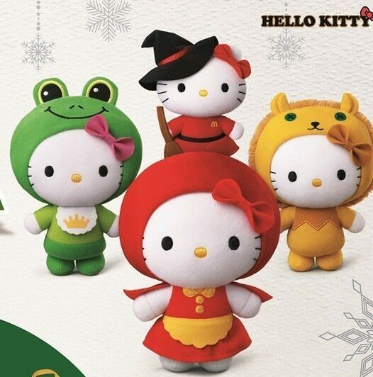 Hello Kitty Mcdonald S Toys : Fairy tale world hello kitty mcdonald s happy meal