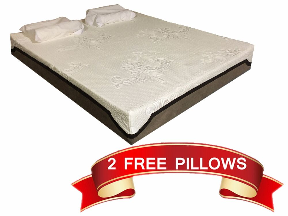 12 Inch Cal King Size Cool Medium Firm Support Memory Foam Mattress Bed Bedroom Ebay