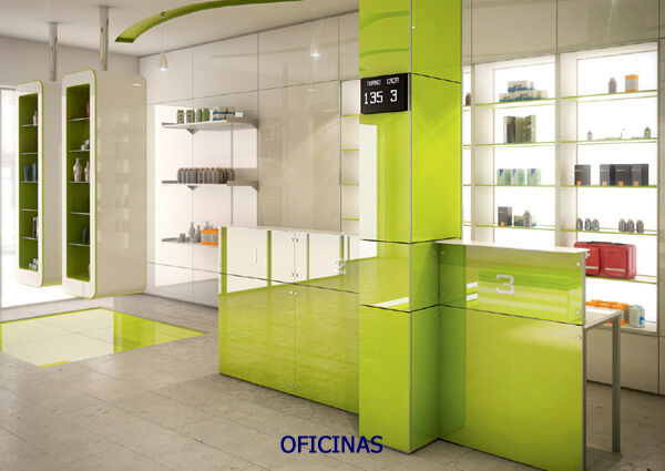 Green High Gloss Acrylic Kitchen Cabinet Doors Drawer