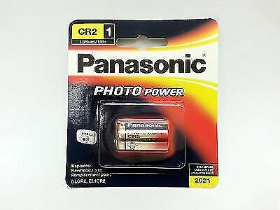 panasonic cr2 lithium photo battery 3 volt ebay. Black Bedroom Furniture Sets. Home Design Ideas