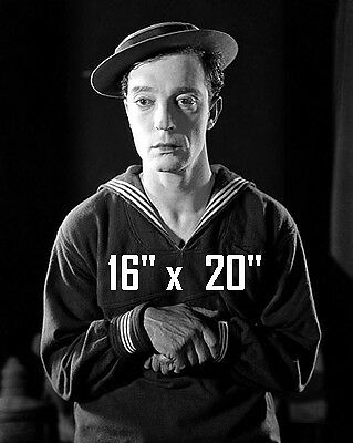 Details about Buster Keaton~Hat~Silent Film Comedian~Poster~Photo~ 16