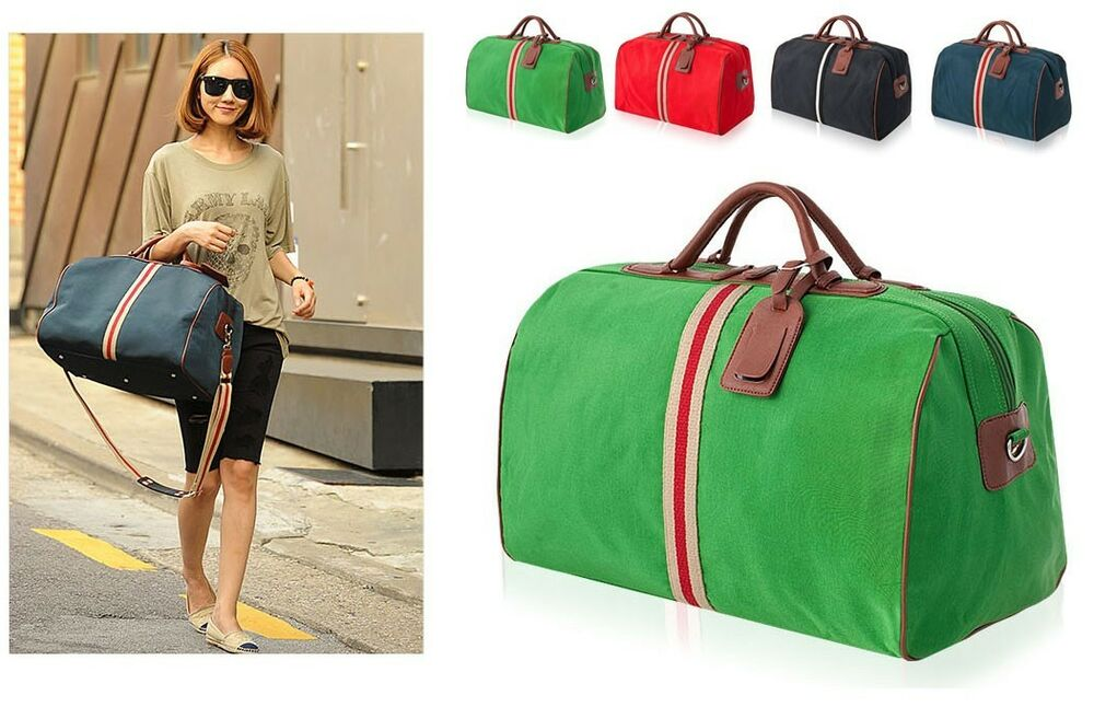 Women S Leather Weekend Travel Bags