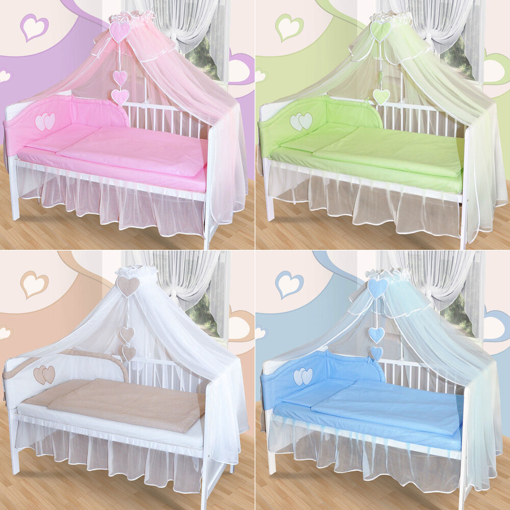 baby himmel moskitonetz f r babybett chiffonhimmel mit. Black Bedroom Furniture Sets. Home Design Ideas