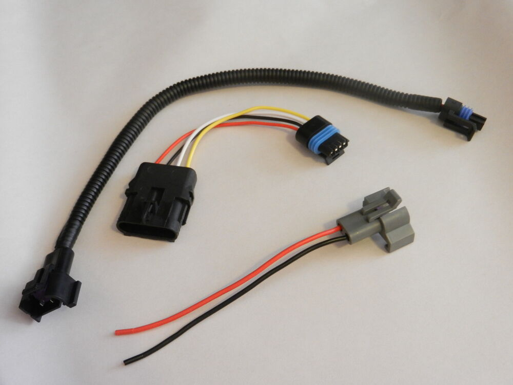 chevy tpi large hei to small cap distributor adapter harness wiring rh ebay com sbc 350 wiring harness sbc s10 wiring harness