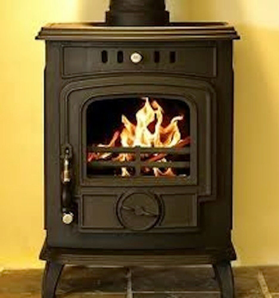Hamco Glenbarrow Stove Boiler Model Multi Fuel Cast Iron Wood Burning Fire New Ebay