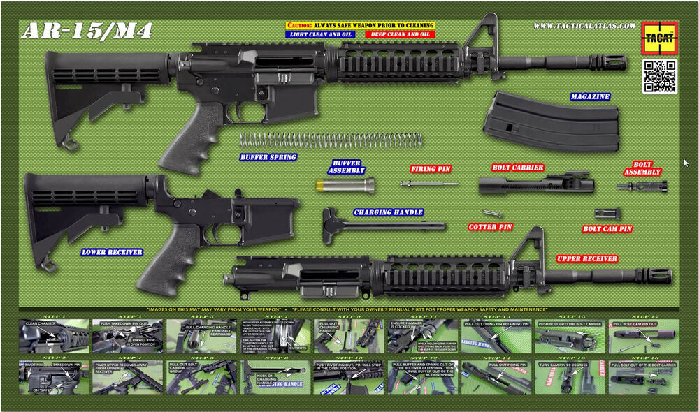 Operator Olive-AR-15 POSTER by TACAT Tactical Atlas | eBay